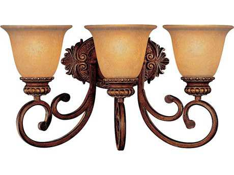 Minka Lavery Belcaro Walnut Three-Light Vanity Light