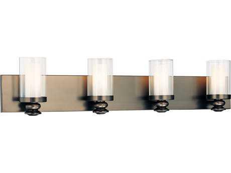 Minka Lavery Harvard Court Bronze Four-Light Vanity Light