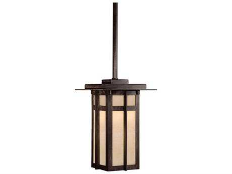Minka Lavery Delancy Iron Oxide Outdoor Hanging Light