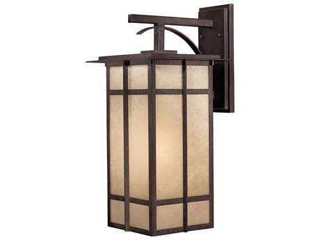 Minka Lavery Delancy Iron Oxide Outdoor Wall light