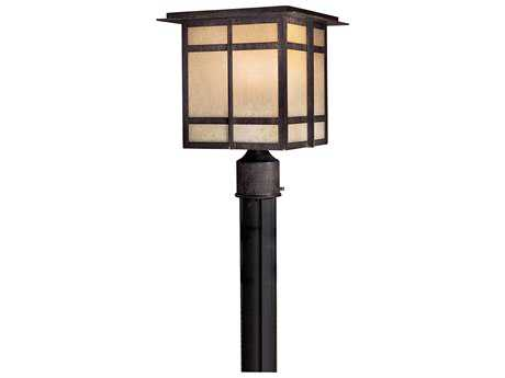 Minka Lavery Iron Oxide Outdoor Post Light