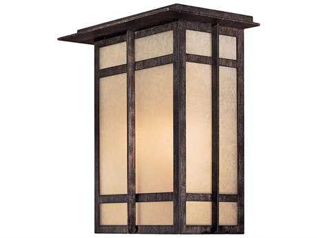 Minka Lavery Delancy Iron Oxide Two-Light Outdoor Wall light