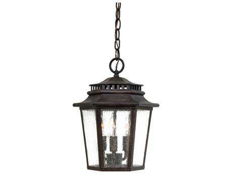 Minka Lavery Wickford Bay Iron Oxide Three-Light Outdoor Hanging Light