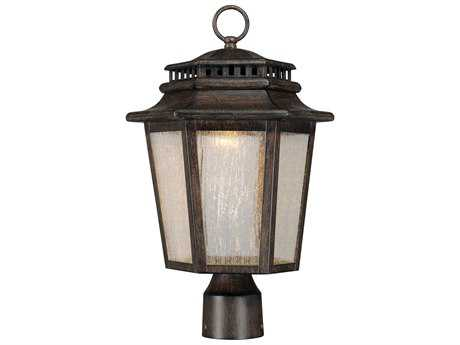 Minka Lavery Iron Oxide LED Outdoor Post Light