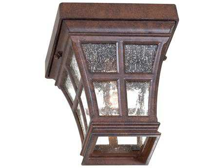 Minka Lavery Mission Bay Antique Bronze Outdoor Ceiling Light