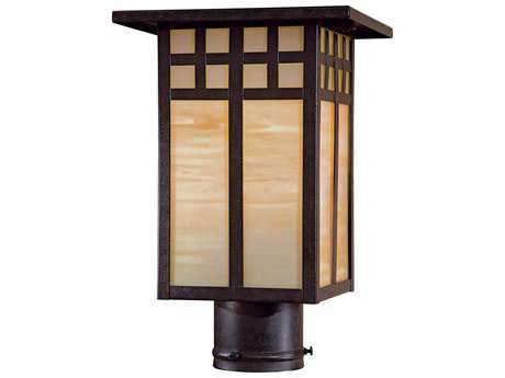 Minka Lavery Scottsdale II Textured French Bronze Outdoor Post Light