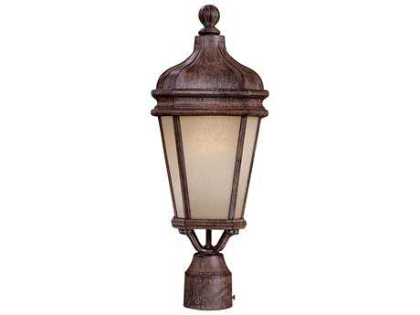Minka Lavery Harrison Vintage Rust Outdoor Post Light