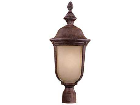Minka Lavery Ardmore Vintage Rust Outdoor Post Light