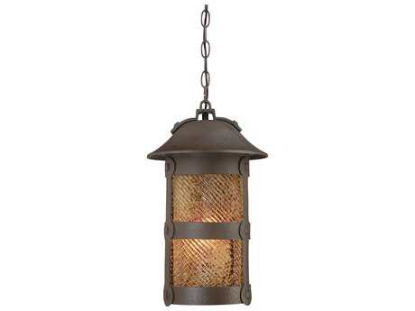 Minka Lavery Lander Heights Forged Bronze Outdoor Hanging Light