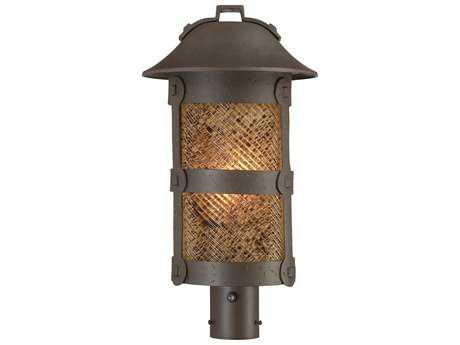 Minka Lavery Lander Heights Forged Bronze Outdoor Post Light
