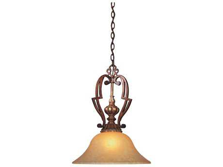 Minka Lavery Belcaro Walnut 18'' Wide Pendant Light