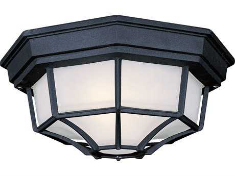 Minka Lavery Black Outdoor Ceiling Light