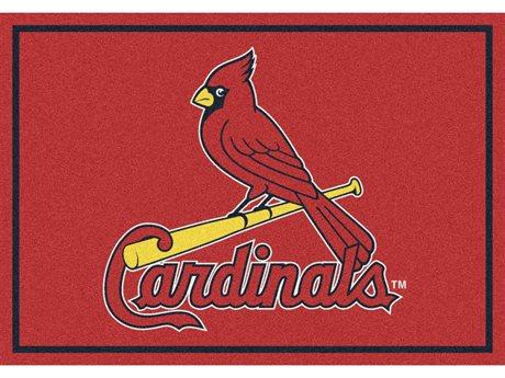 Milliken MLB Team Spirit St. Louis Cardinals Rectangular Rug