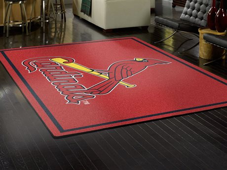 Milliken MLB Team Spirit St. Louis Cardinals Rectangular Rug