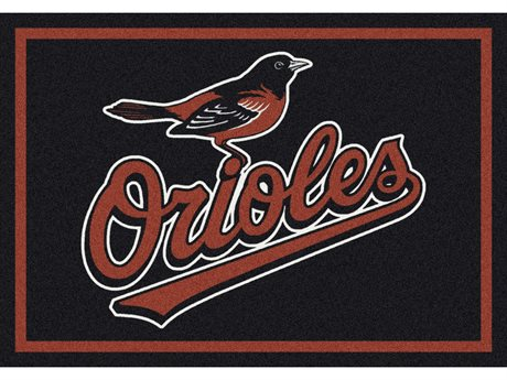 Milliken MLB Team Spirit Baltimore Orioles Rectangular Rug