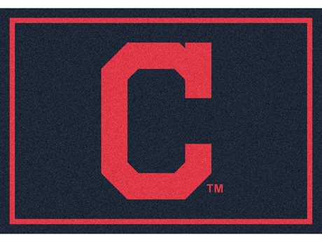 Milliken MLB Team Spirit Cleveland Indians Rectangular Rug