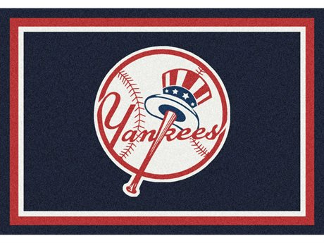 Milliken MLB Team Spirit New York Yankees Rectangular Rug