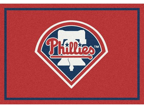 Milliken MLB Team Spirit Philadelphia Phillies Rectangular Rug