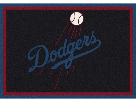Milliken MLB Team Spirit Los Angeles Dodgers Rectangular Rug