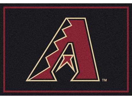 Milliken MLB Team Spirit Arizona Diamond Backs Rectangular Rug