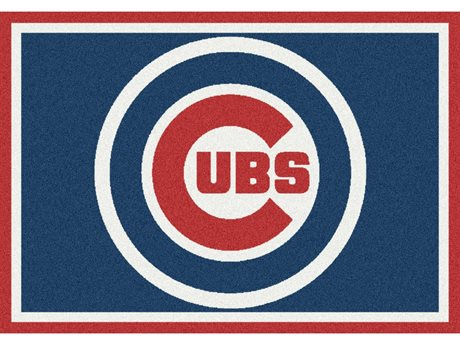 Milliken MLB Team Spirit Chicago Cubs Rectangular Rug