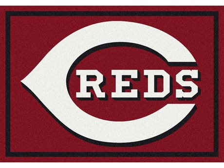 Milliken MLB Team Spirit Cincinnati Reds Rectangular Rug