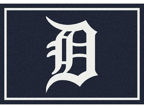 Milliken MLB Team Spirit Detroit Tigers Rectangular Rug