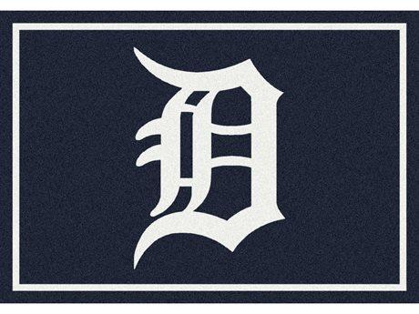 Milliken MLB Team Spirit Detroit Tigers Rectangular Rug