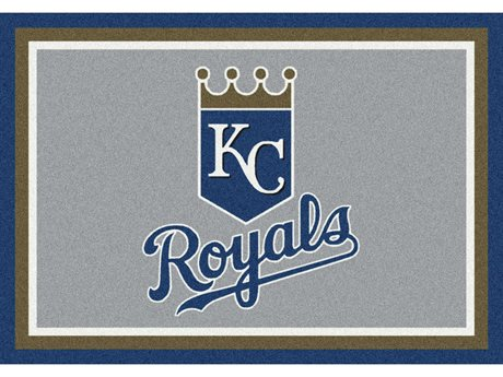 Milliken MLB Team Spirit Kansas City Royals Rectangular Rug