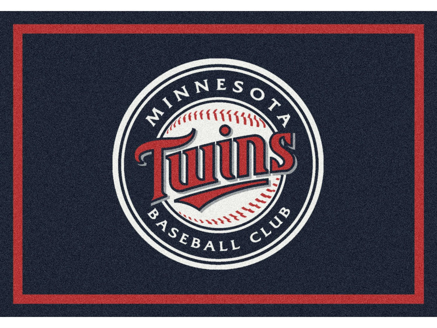 Milliken Mlb Team Spirit Minnesota Twins Rectangular Rug