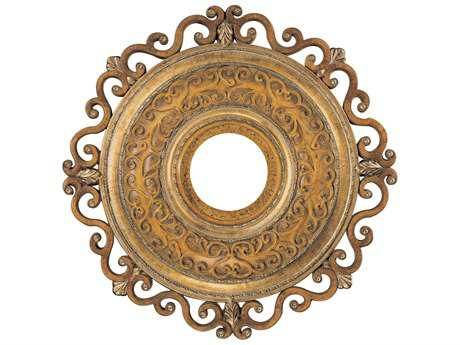 Minka-Aire Napoli Tuscan Patina 22'' Wide Ceiling Medallion