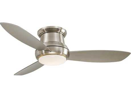 Minka-Aire Concept II Brushed Nickel 52'' Wide Indoor Ceiling Fan