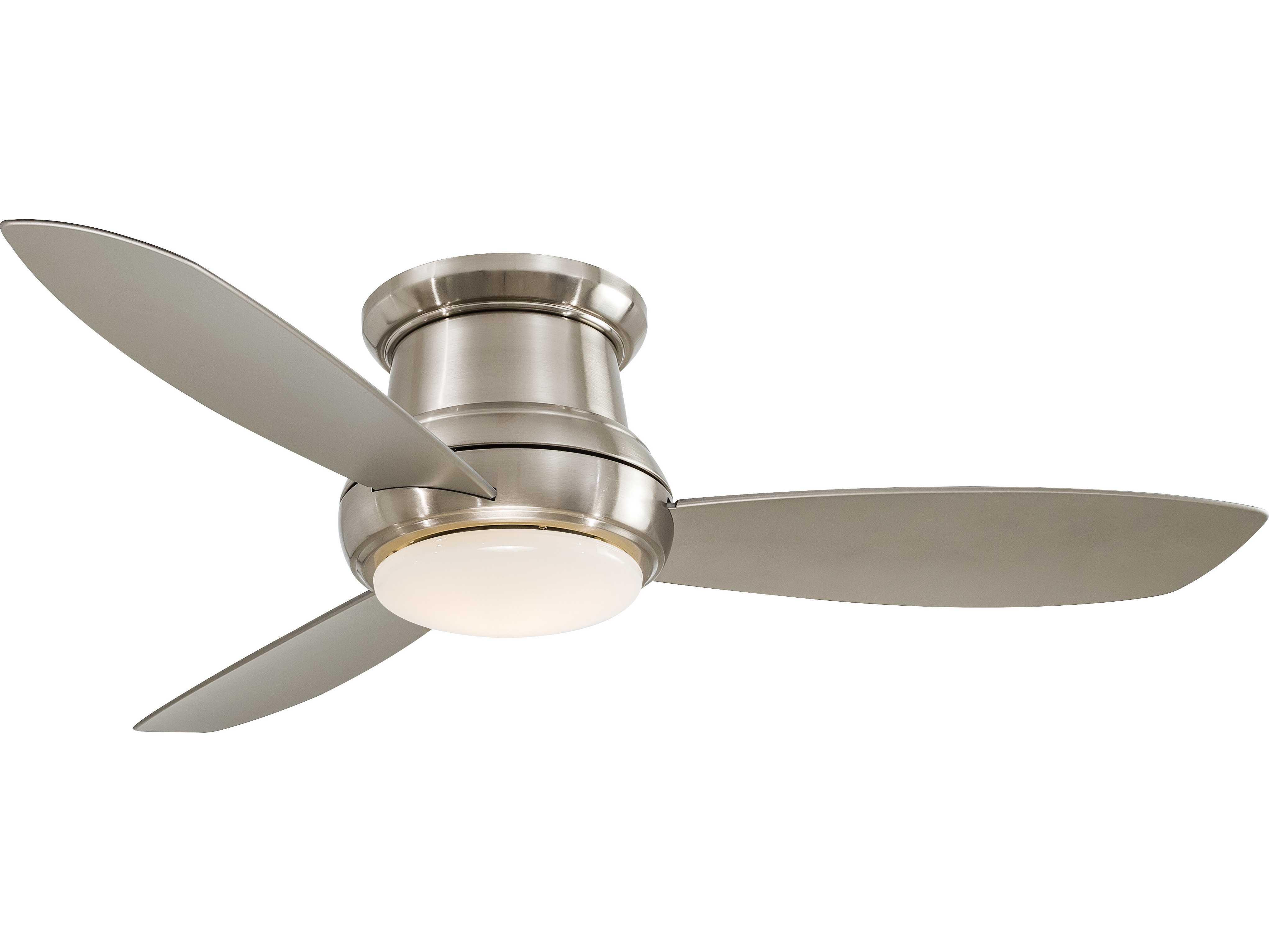 Minka Aire Concept Ii Brushed Nickel 52 Wide Indoor
