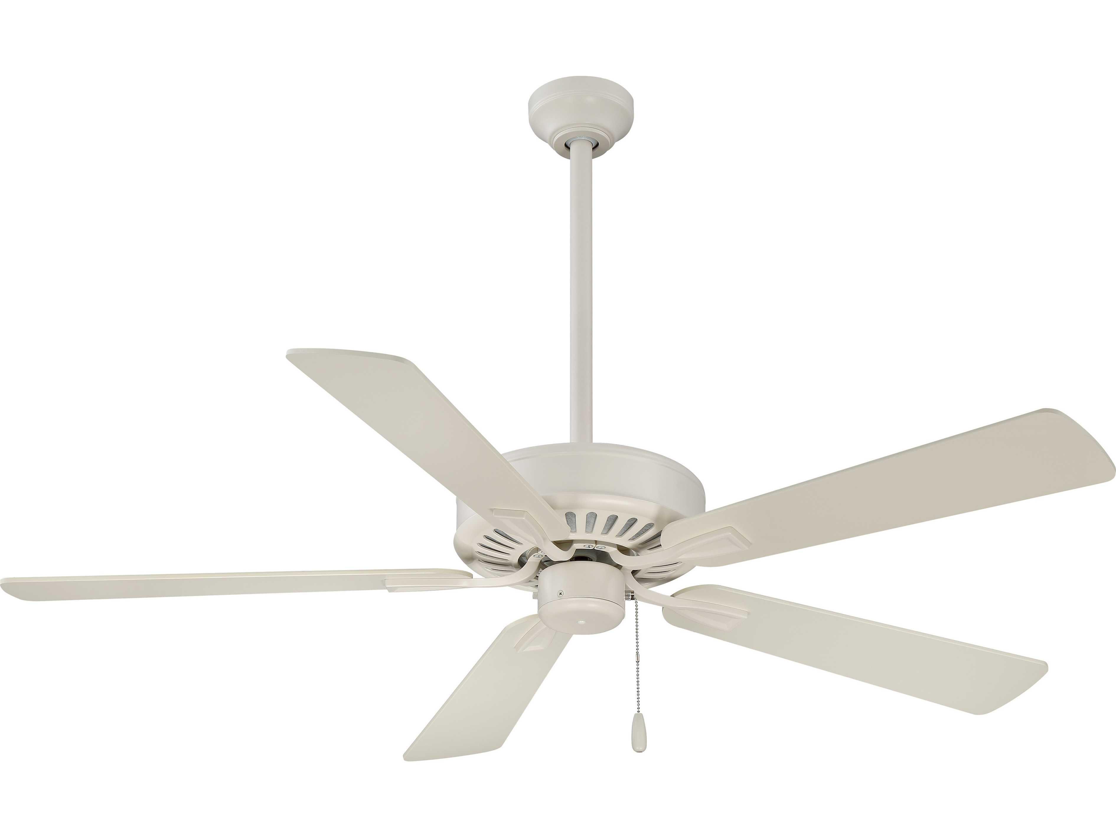 Minka Aire Contractor Plus Bone White 52 Wide Indoor Ceiling Fan