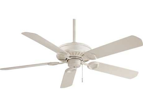 Minka-Aire Sundowner Bone White 54'' Wide Indoor & Outdoor Ceiling Fan