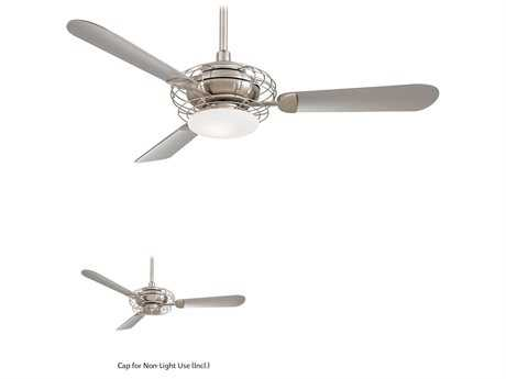 Minka-Aire Acero Brushed Steel & Brushed Nickel 52'' Wide Indoor Ceiling Fan