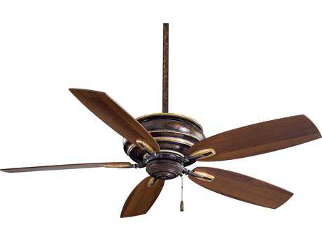 Minka-Aire Timeless Mottled Copper & Gold Highlights 54'' Wide Indoor Ceiling Fan