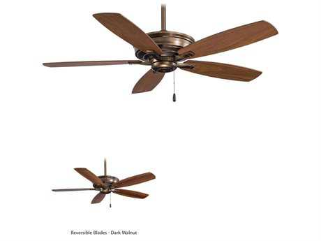 Minka-Aire Kafe Cognac 52'' Wide Indoor Ceiling Fan