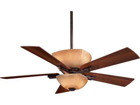 Minka-Aire Lineage Iron Oxide Two-Light 54'' Wide Indoor Ceiling Fan