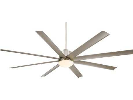 Minka-Aire Slipstream XXL Brushed Nickel 84'' Wide Outdoor Ceiling Fan