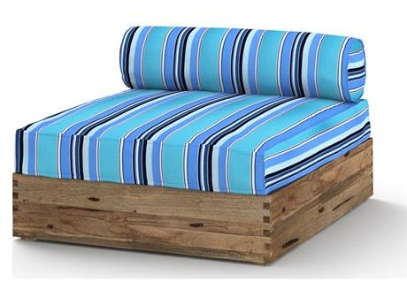 Mamagreen Aiko Teak Cushion Modular Lounge Chair