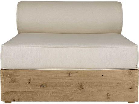 Mamagreen Aiko Teak Cushion Modular Lounge Chair (Quick Ship)