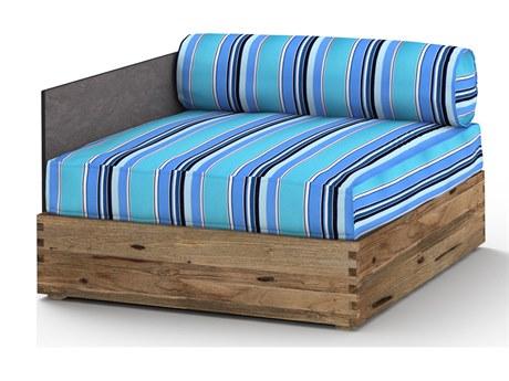 Mamagreen Aiko Teak Cushion Modular Right Arm Lounge Chair