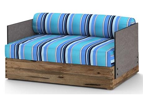 Mamagreen Aiko Teak Cushion Lounge Chair