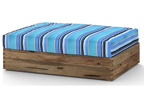 Mamagreen Aiko Teak Cushion Ottoman