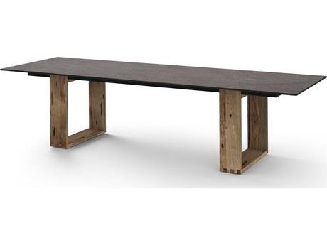 Mamagreen Aiko Teak 118''W x 38''D Rectangular Dining Table (Quick Ship)
