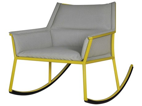 Mamagreen Andy Aluminum Cushion Rocker Lounge Chair