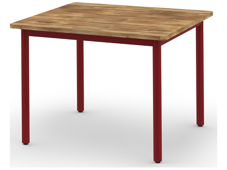 Mamagreen Andy Aluminum 40 Wide Square Dining Table Mmgand05