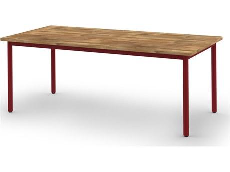 Mamagreen Andy Aluminum 80''W x 40''D Rectangular Dining Table