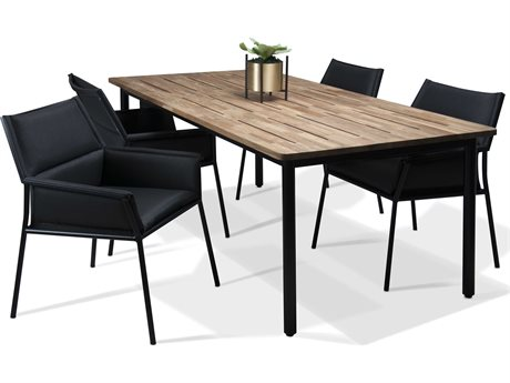 Mamagreen Andy Aluminum Dining Set MMGAND06SET1